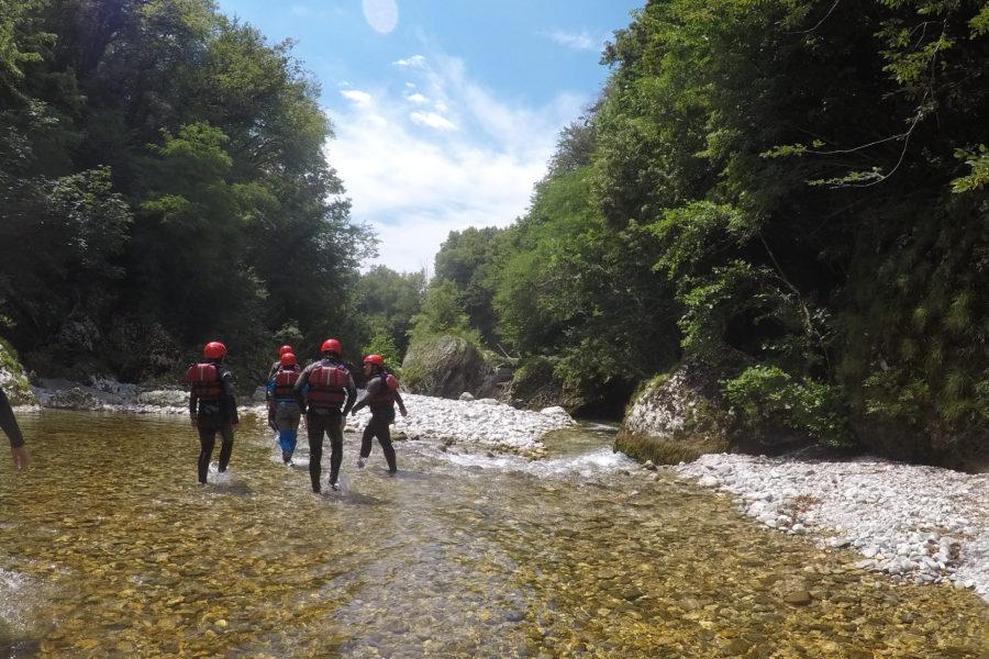 13-16 agosto: IL NATISONE, un sentiero d'acqua lungo 62 km